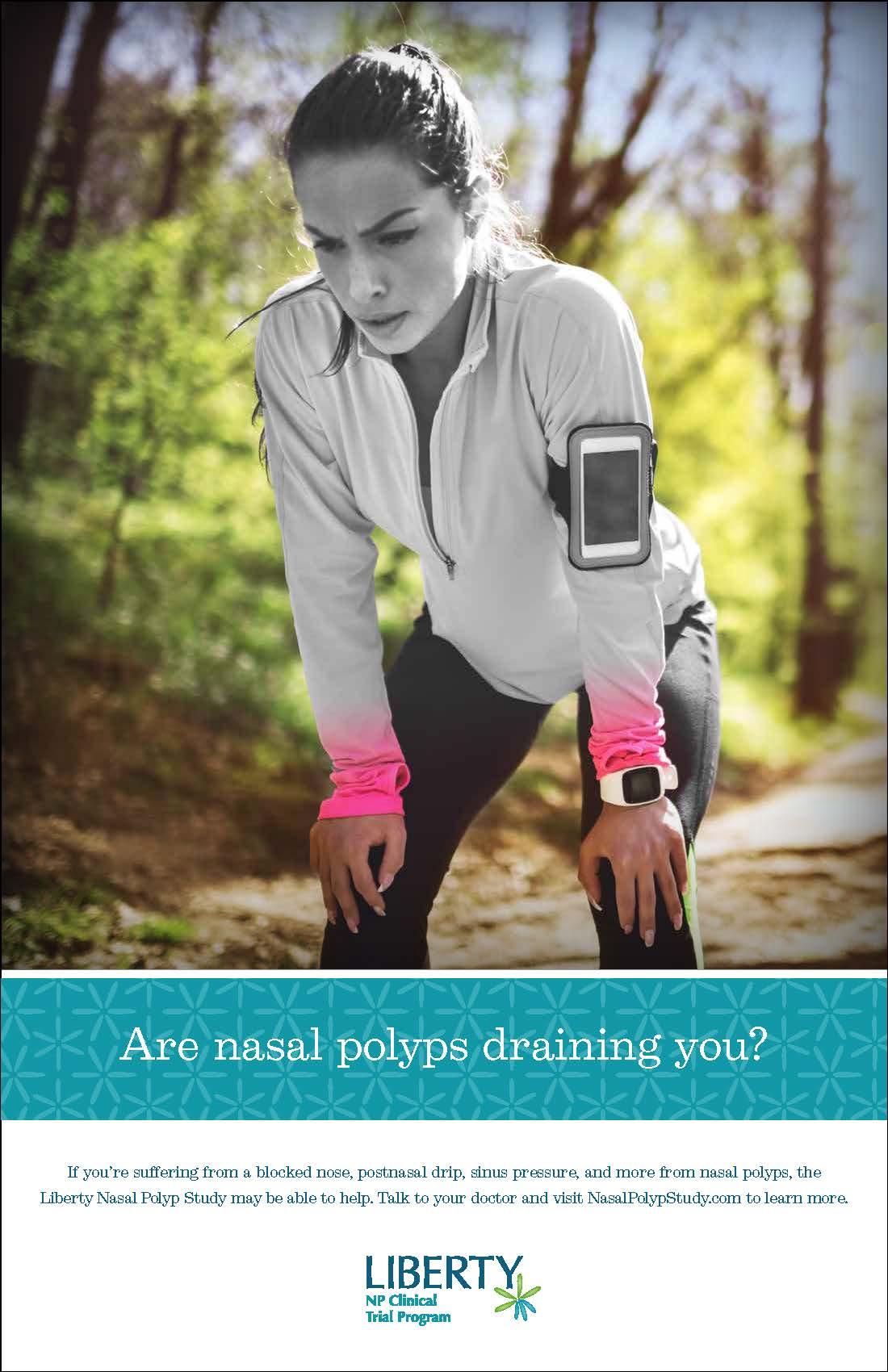 Nasal polyp study flyer